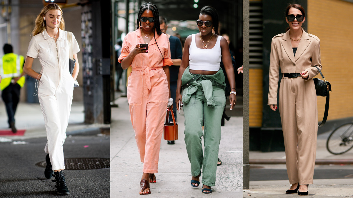 Fall 2020 Fashion Must Haves.Jumpsuits Were A Street Style Must Have On Day 5 Of New York