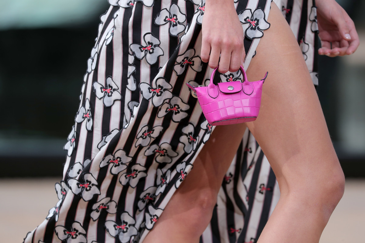 A bag from the Longchamp Spring 2020 collection. Photo: Thomas Concordia/Getty Images for Longchamp