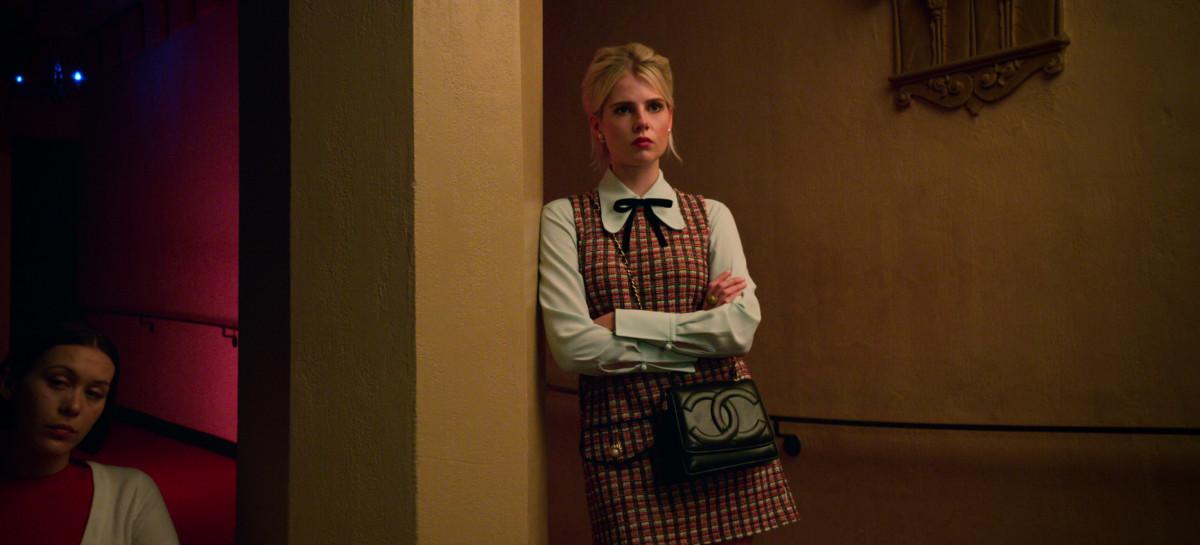 Astrid (Lucy Boynton). Photo: Courtesy of Netflix