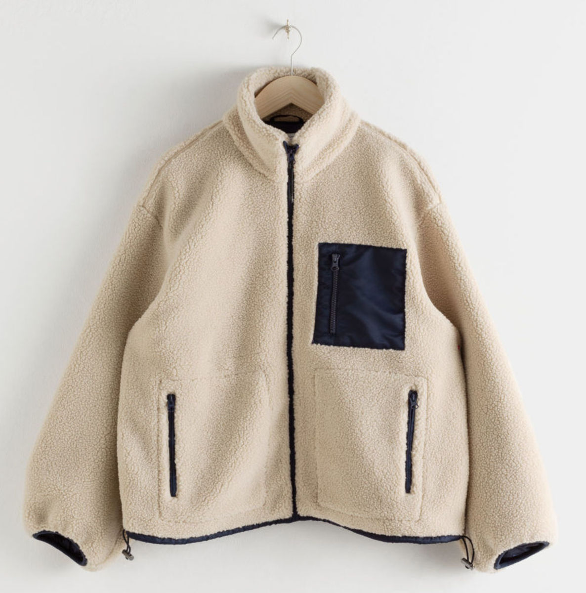 & Other Stories Relaxed Utility Fleece Jacket, $149, available here.