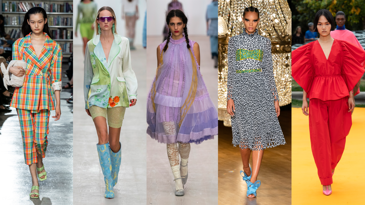 Fashion Trends 2020.7 Top Trends From The London Spring 2020 Runways Fashionista