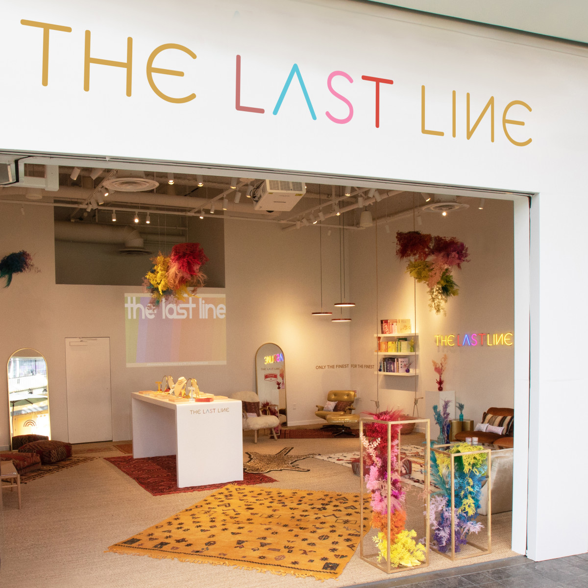The Last Line pop-up at Westfield Century City. Photo: Teddy Sanders