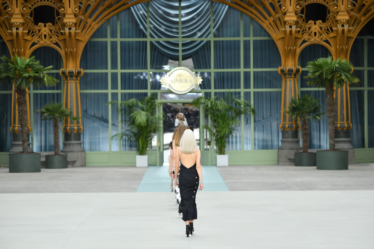 Looks from the Chanel Cruise 2020 collection. Photo: Pascal Le Segretain/Getty Images