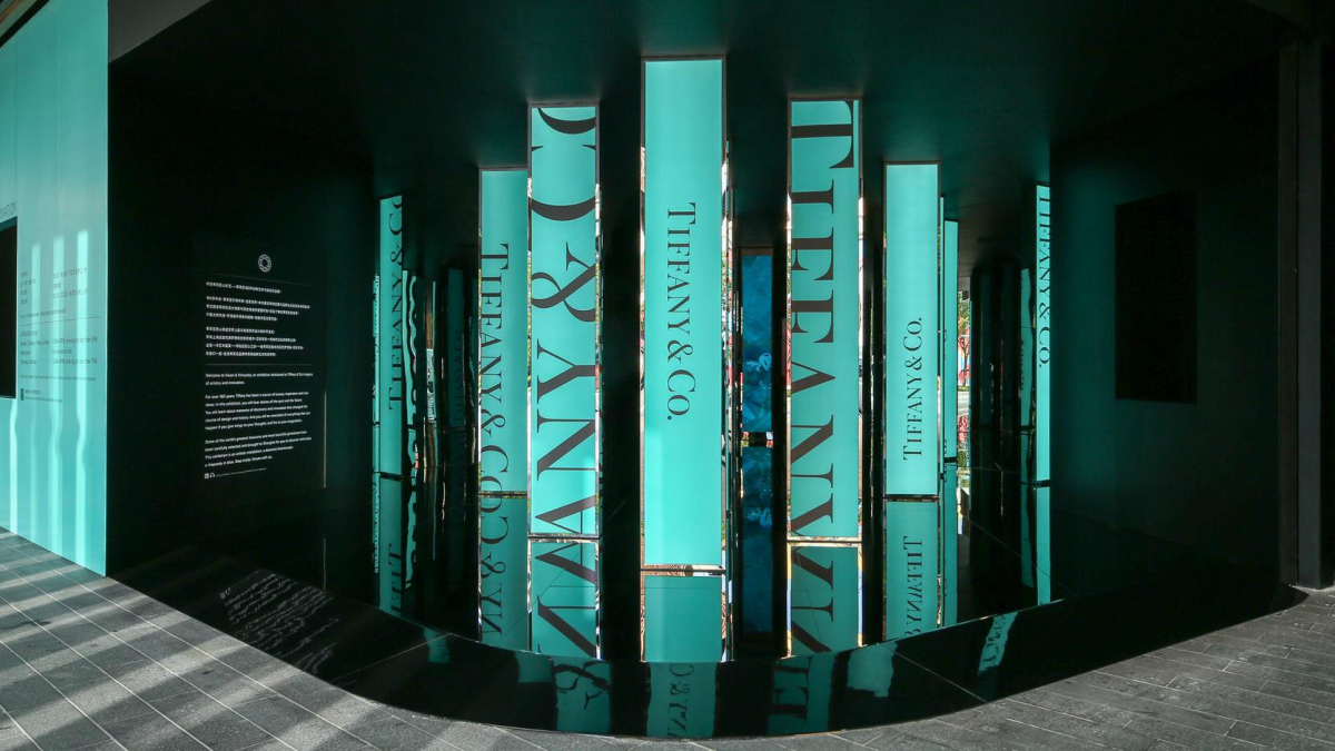 Tiffany & Co. Courts Millennials in China With Massive, and Strategic, Exhibition