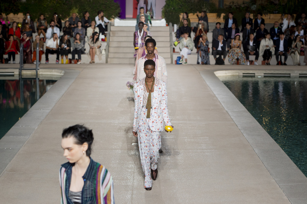 The finale from the Missoni Spring 2020 collection. Photo: Imaxtree