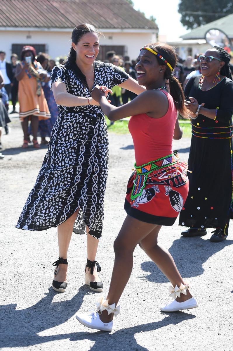 The Duchess of Sussex in Cape Town. Photo: Samir Hussein/WireImage