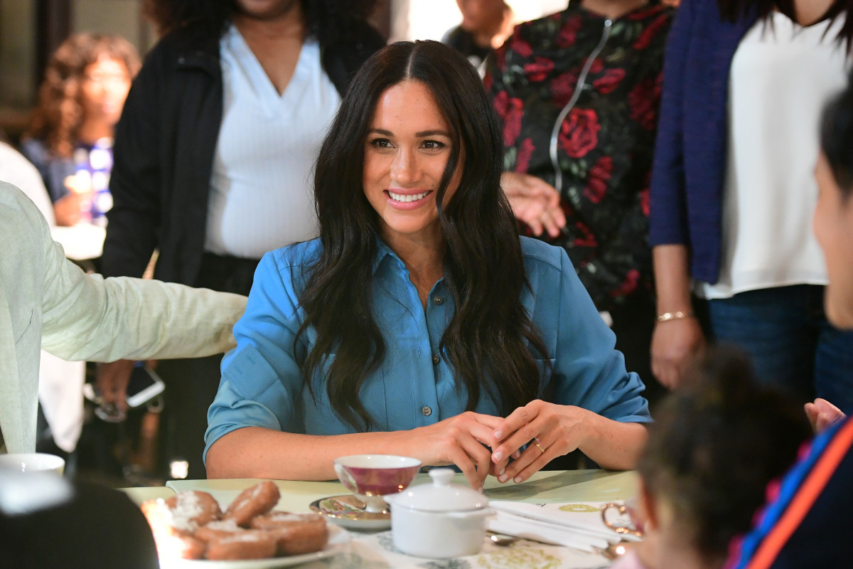 Meghan Markle at the District 6 Museum. Photo: Samir Hussein/WireImage