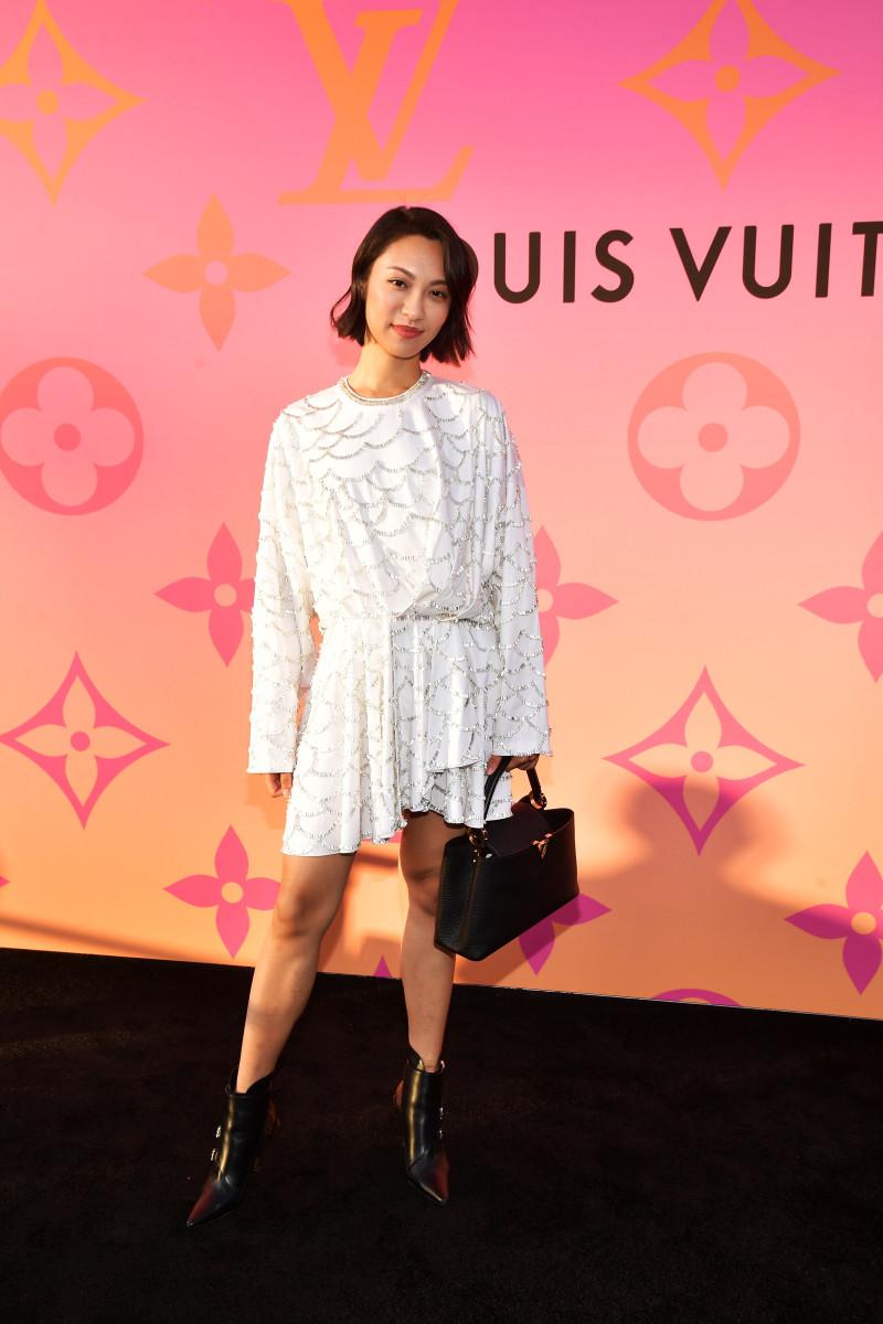 Fan at a Beverly Hills Louis Vuitton event in June. Photo: Matt Winkelmeyer/Getty Images for Louis Vuitton