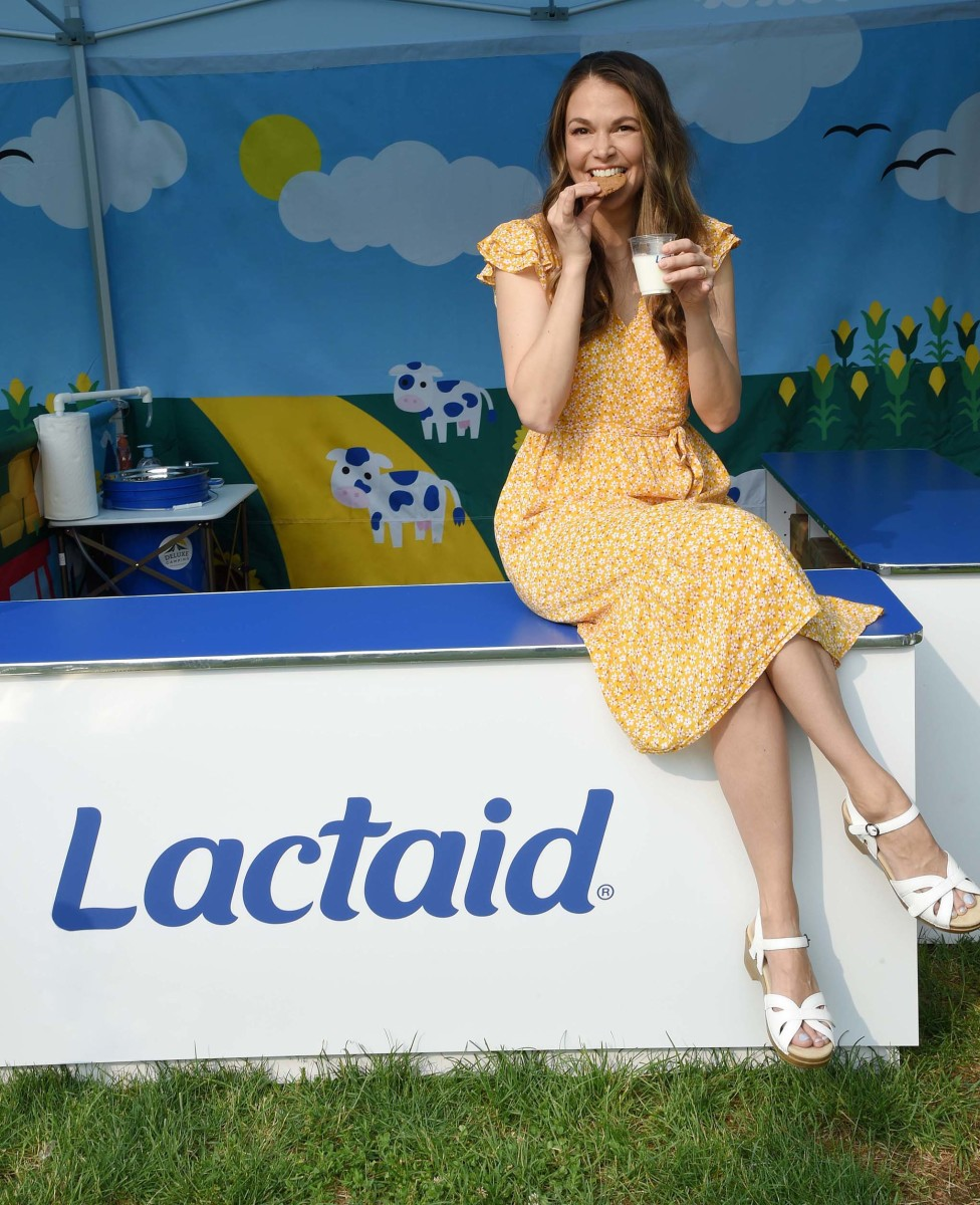 """""""I was joking about smoothies, but literally the last time I went to Marshalls, I had a smoothie."""" Photo:Michael Simon/Courtesy of Lactaid"""