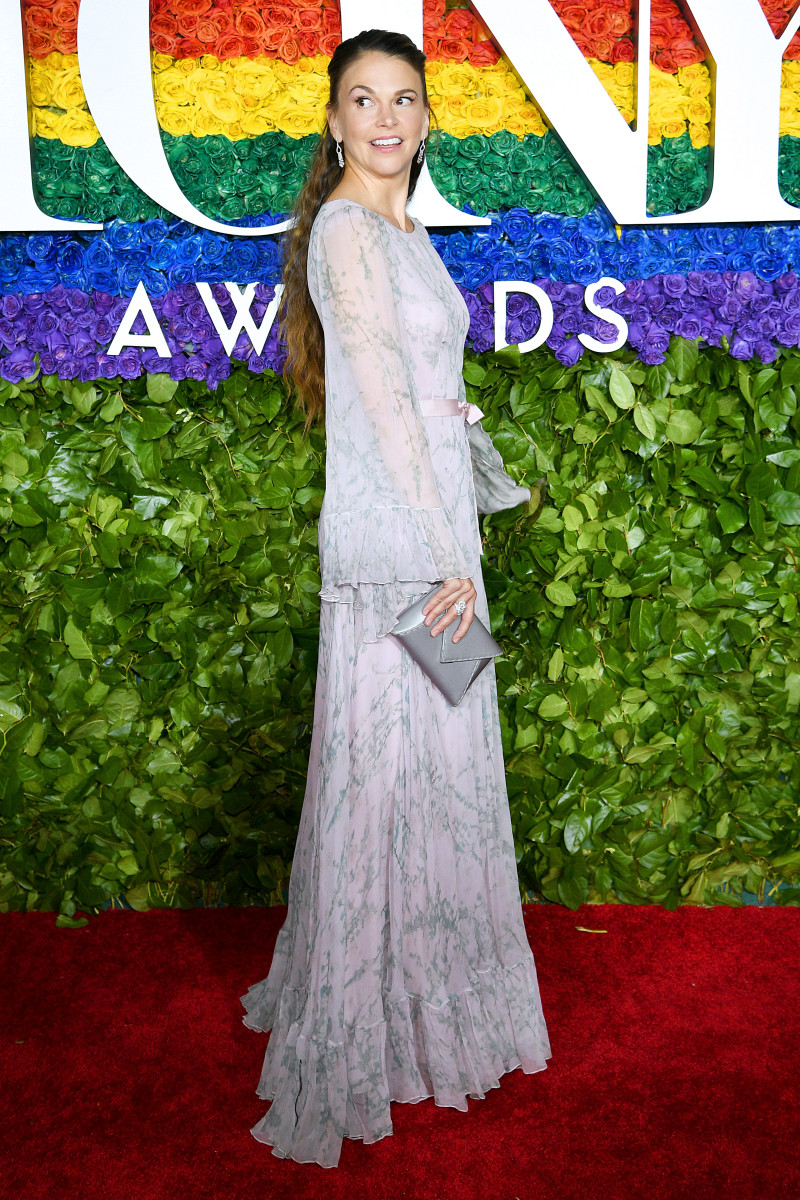 Foster on the 2019 Tony Awards red carpet. Photo: Dimitrios Kambouris/Getty Images for Tony Awards Productions