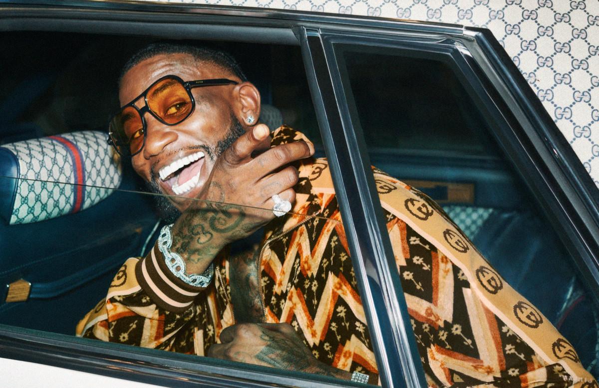 Gucci Mane for Gucci's Resort 2020 campaign. Photo: Harmony Korine/Courtesy of Gucci