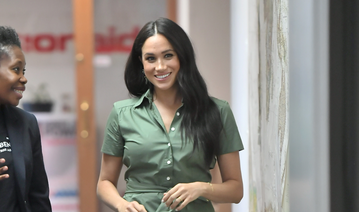 Meghan Markle Wore a Thing: Room 502 Dress in Africa Edition