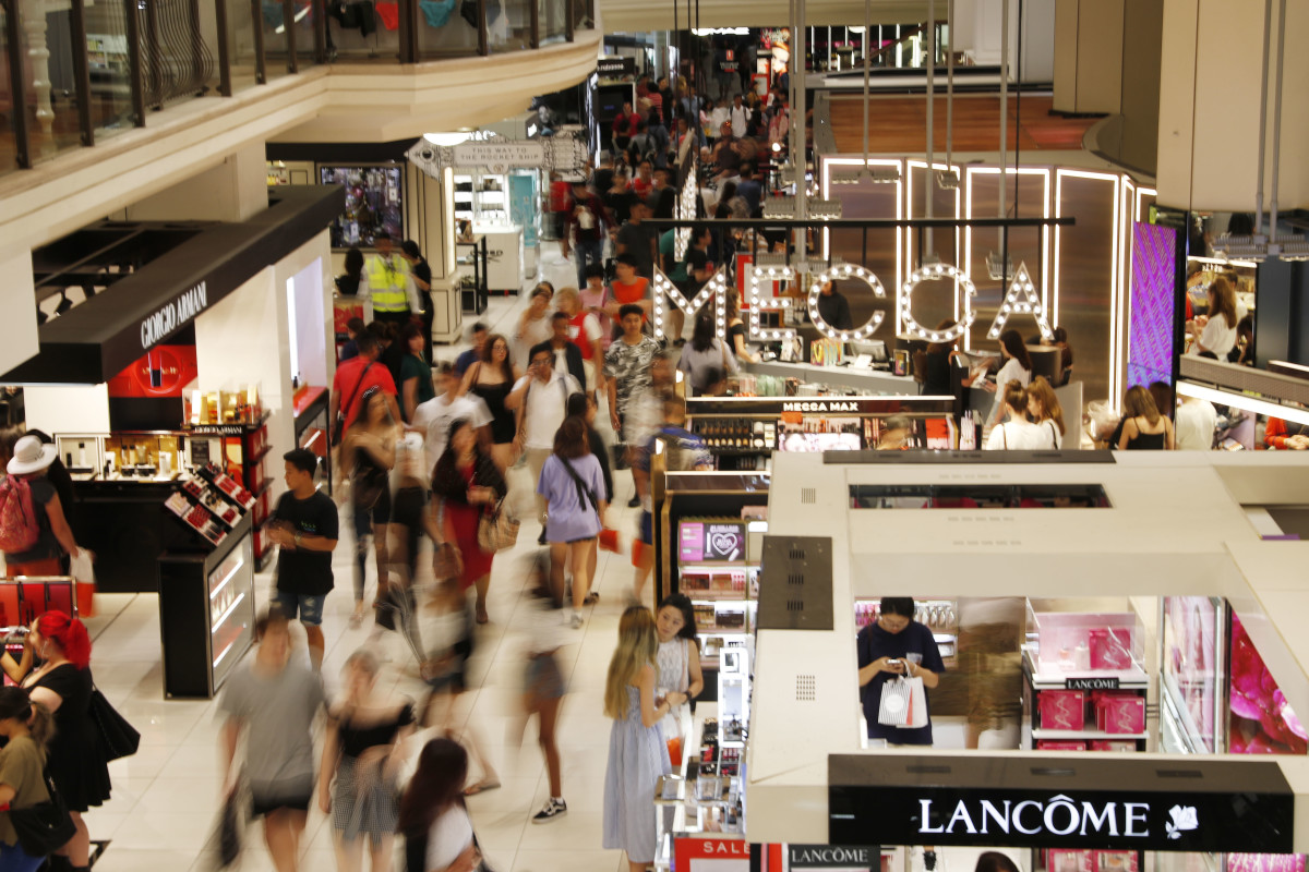 A retail store on Boxing Day in Sydney. Photo: Hanna Lassen/Getty Images