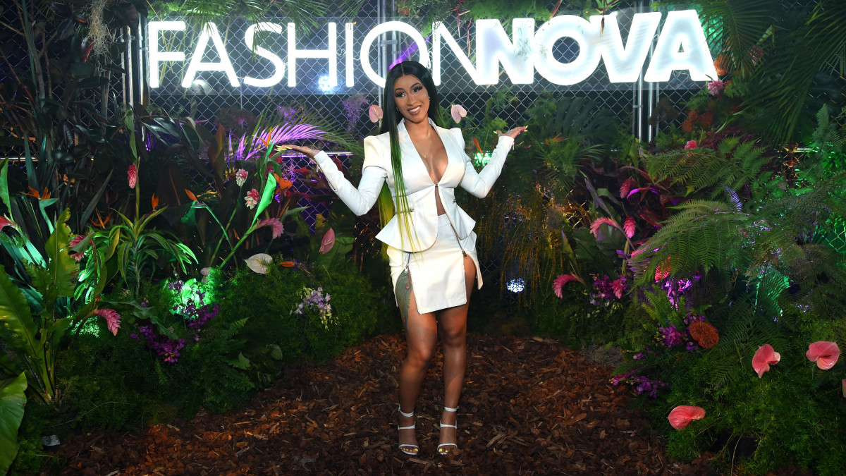 Cardi B at Fashion Nova Presents: Party With Cardi in Los Angeles. Photo: Presley Ann/Getty Images for Fashion Nova