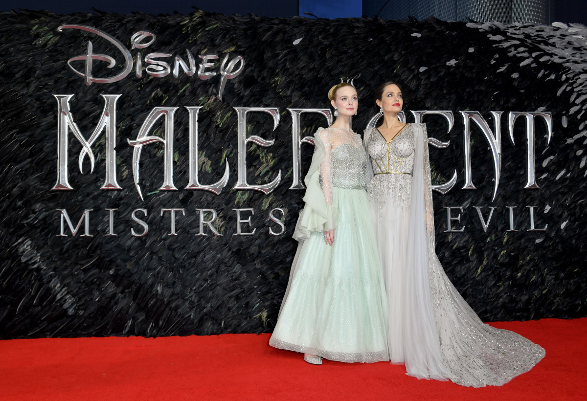 Angelina Jolie And Elle Fanning Look Like Actual Royalty