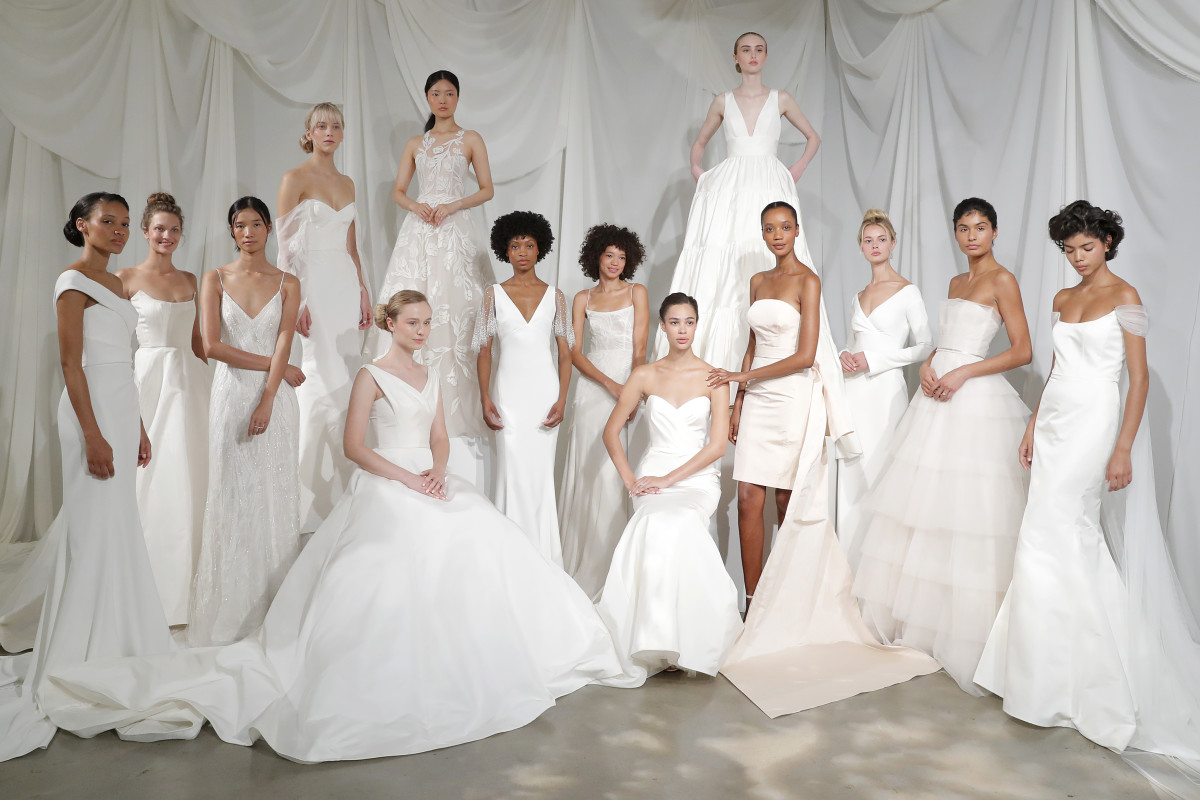 Amsale Fall 2020 bridal presentation. Photo: Courtesy of Amsale