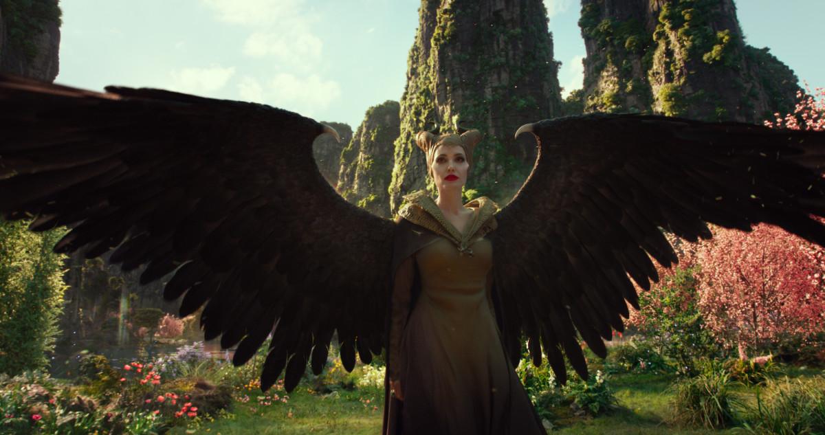 Maleficent (Angelina Jolie): Photo: Courtesy of Disney