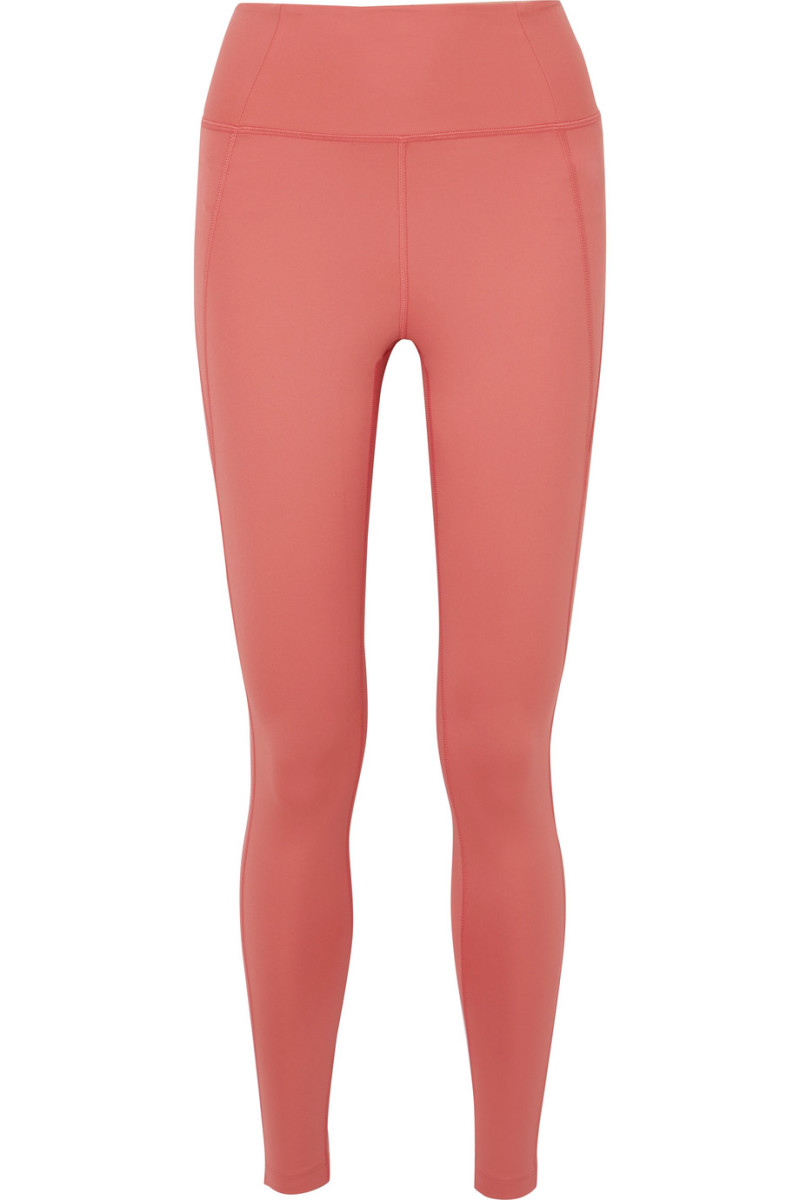 Girlfriend Collective Compression Leggings in Clay, $68, available here.