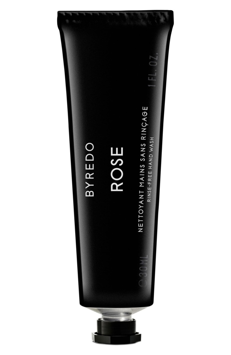 Byredo Rose Rinse-Free Hand Wash, $35, available here.
