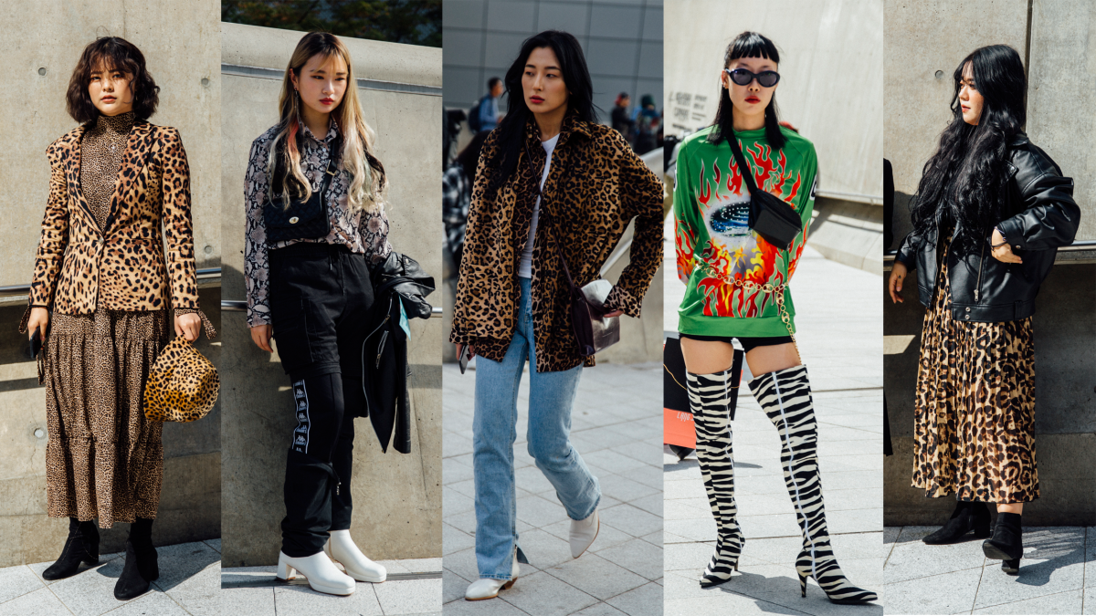 Showgoers Wore Their Best Animal Prints at Seoul Fashion