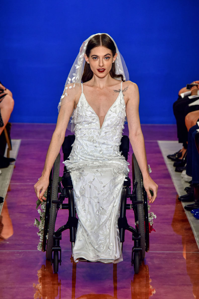 A look from the Theia Fall 2020 bridal collection. Photo: Courtesy of Theia