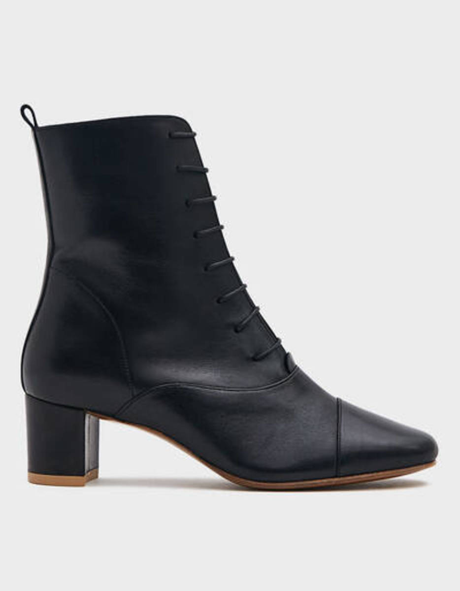 By Far Lada Leather Boot in Black, $509, available here.