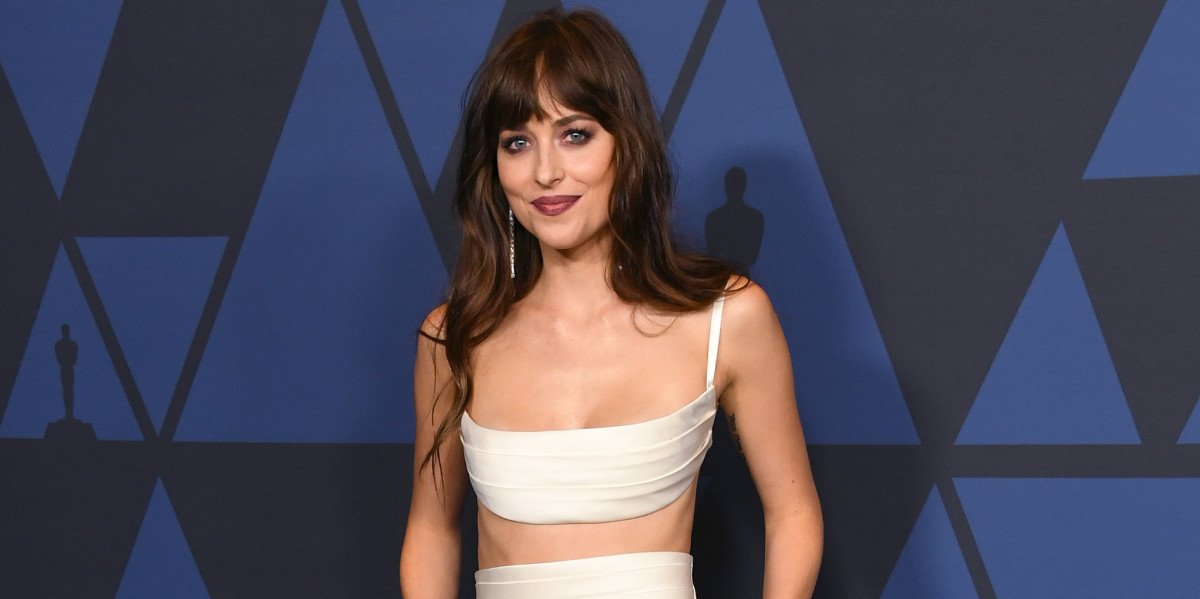 Seeing Dakota Johnson in This Brandon Maxwell Look Made My Heart Stop thumbnail