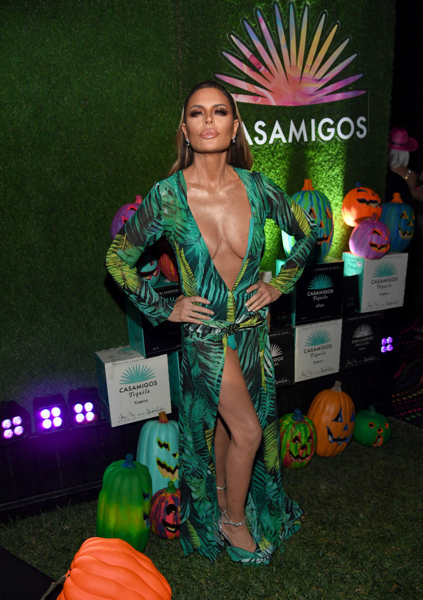 Lisa Rinna at the 2019 Casamigos Halloween Party. Photo: Kevin Mazur/Getty Images for Casamigos