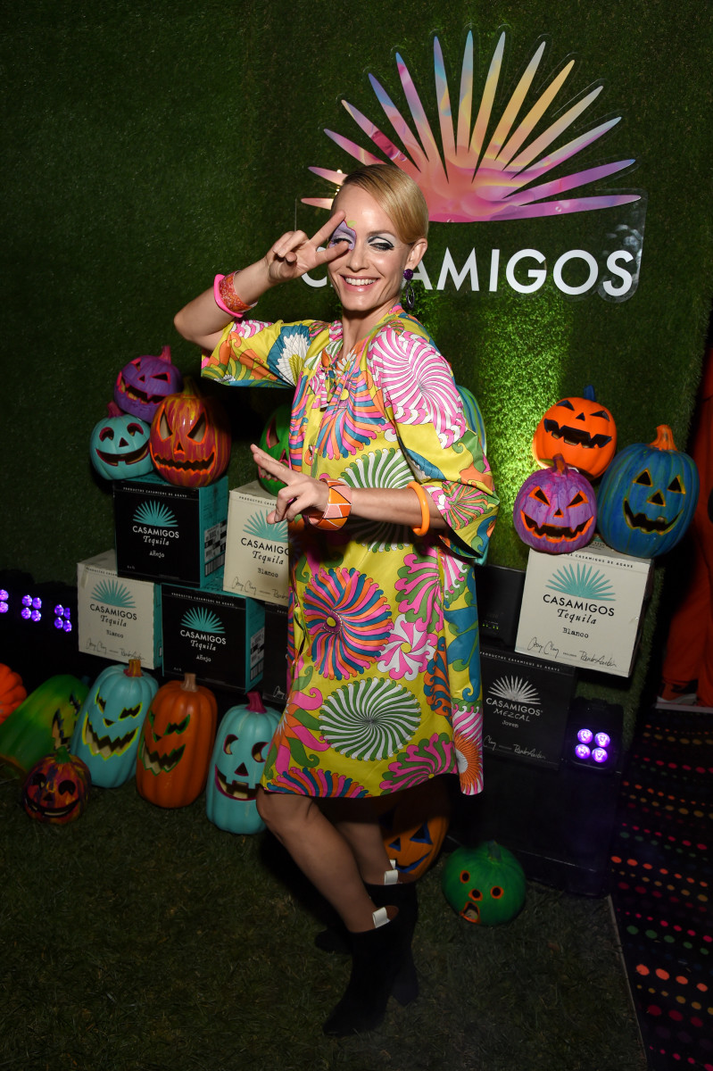 Amber Valletta at the 2019 Casamigos Halloween Party. Photo: Michael Kovac/Getty Images for Casamigos