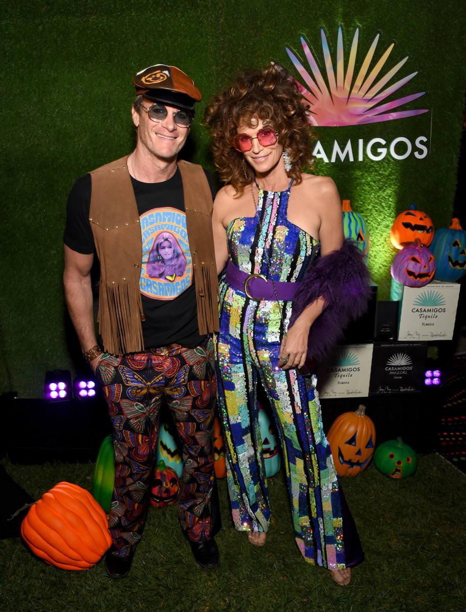 Rande Gerber and Cindy Crawford at the 2019 Casamigos Halloween Party. Photo: Michael Kovac/Getty Images for Casamigos