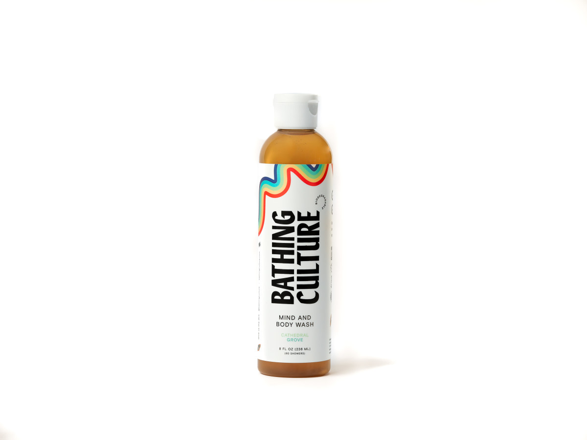 Bathing Culture Biodegradable Mind & Body Wash, $20, available here.