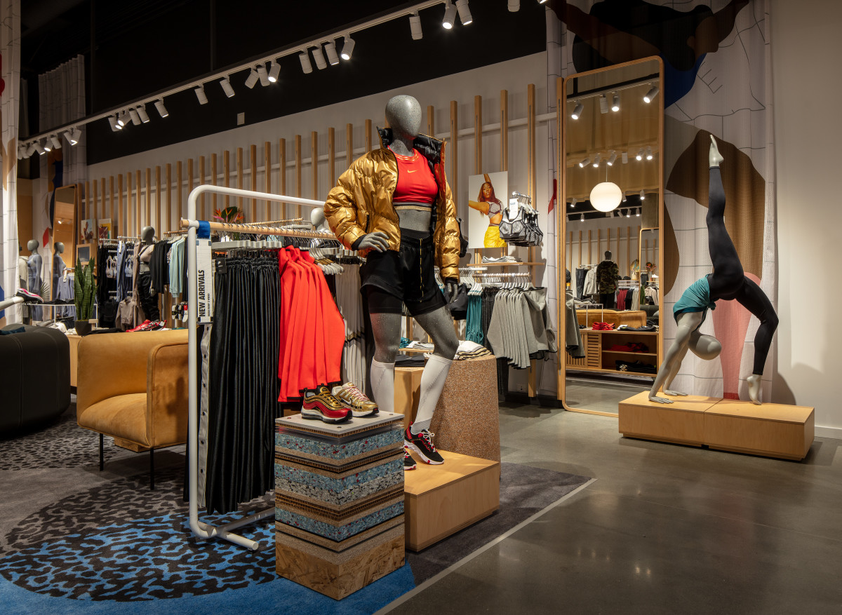 Mannequins inside Nike by Long Beach. Photo: Courtesy of Nike