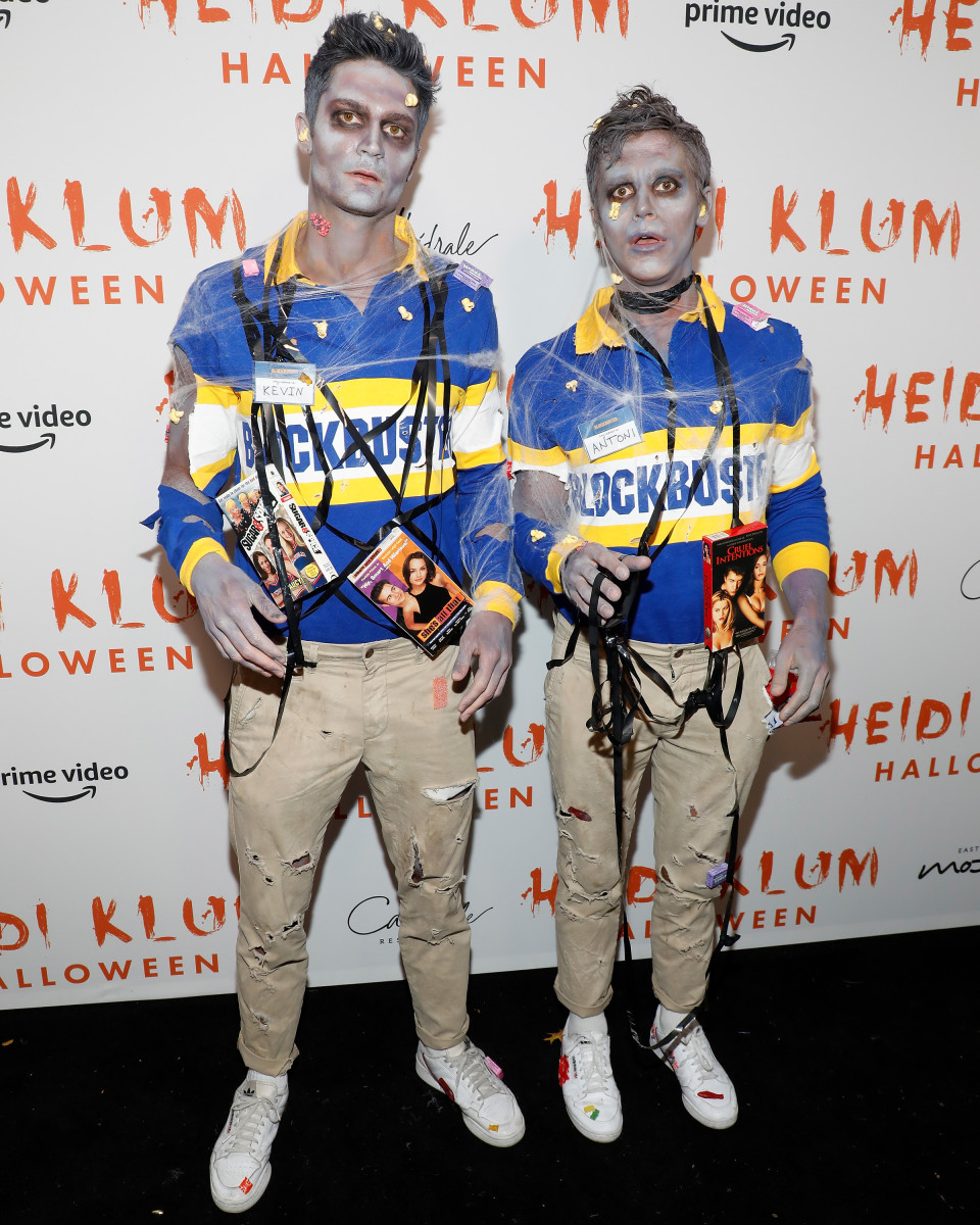 Kevin Herrington and Antoni Porowski at Heidi Klum's Annual Halloween Party at Cathédrale. Photo: Taylor Hill/Getty Images