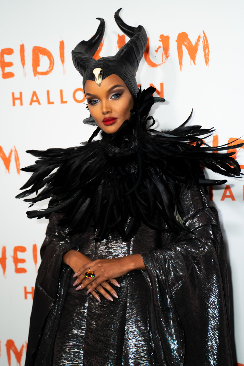 Halima Aden at Heidi Klum's Annual Halloween Party at Cathédrale. Photo: Taylor Hill/Getty Images
