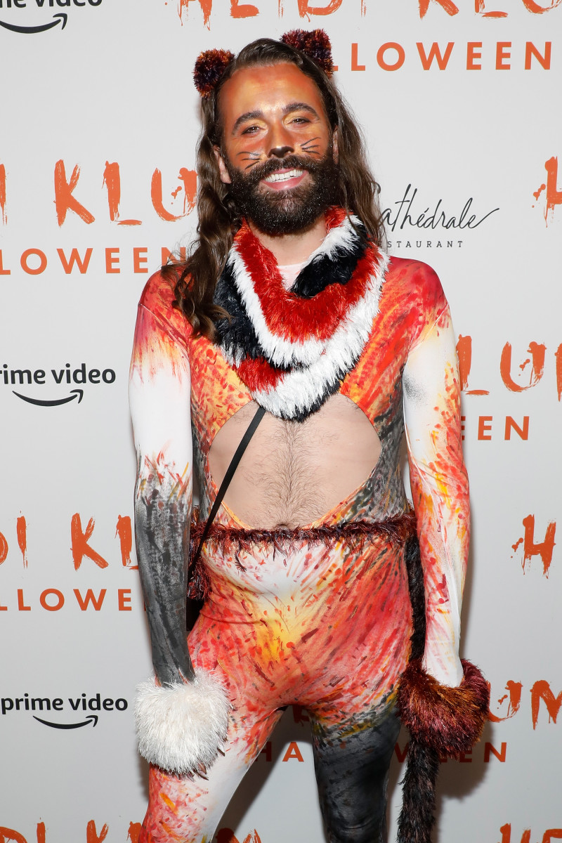 Jonathan Van Ness at Heidi Klum's Annual Halloween Party at Cathédrale. Photo: Taylor Hill/Getty Images