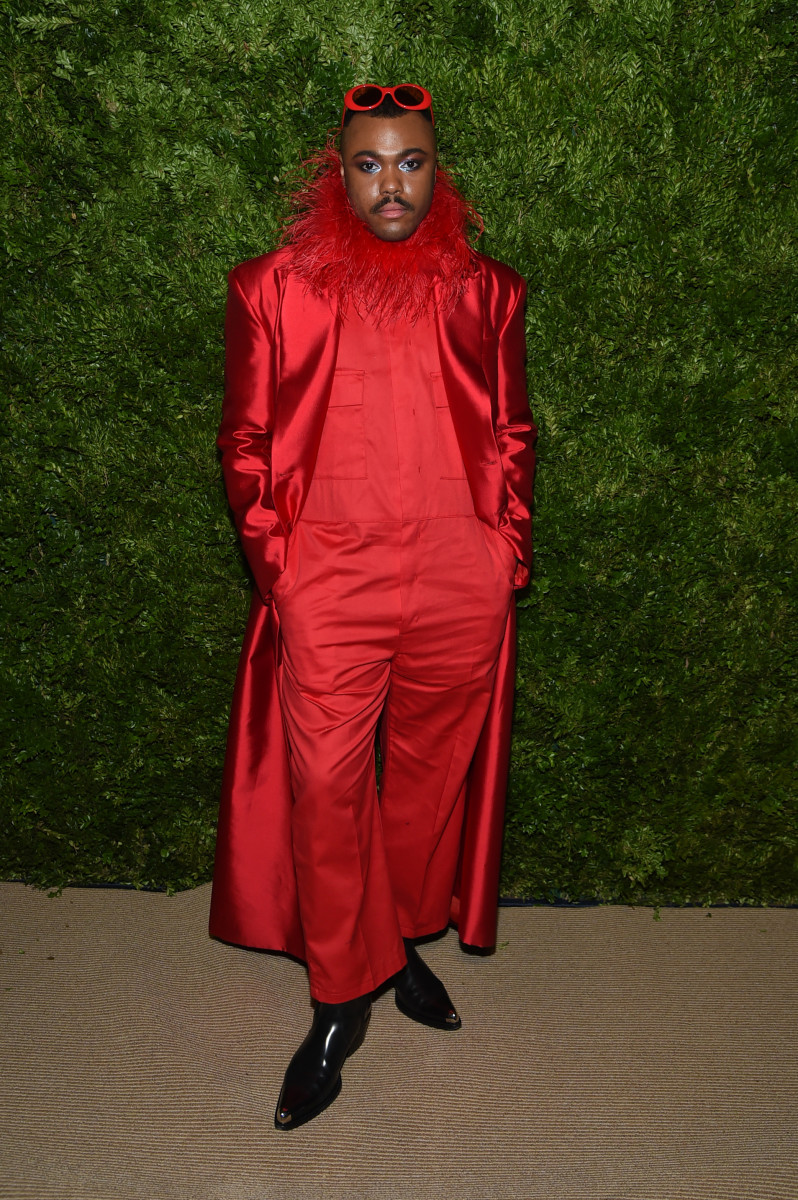 Christopher John Rogers attends the CFDA/Vogue Fashion Fund 2019 Awards on November 04, 2019 in New York City. Photo: Jamie McCarthy/Getty Images