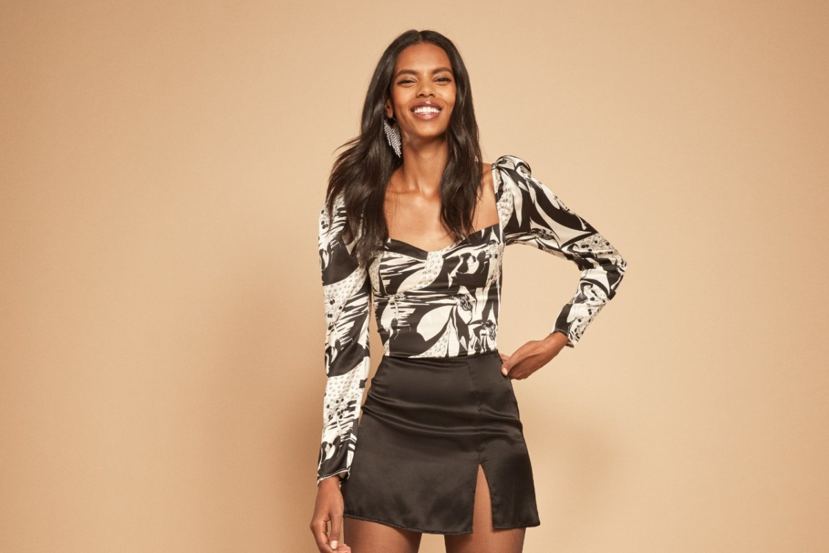 Reformation's Silky, Velvety Holiday Collection Is Here