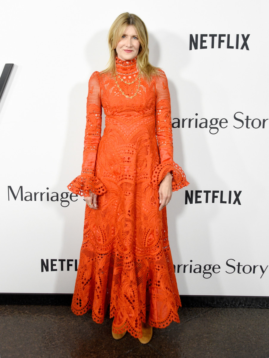 Laura Dern in Zimmermann at the premiere of 'Marriage Story' in Los Angeles. Photo: Charley Gallay/Getty Images