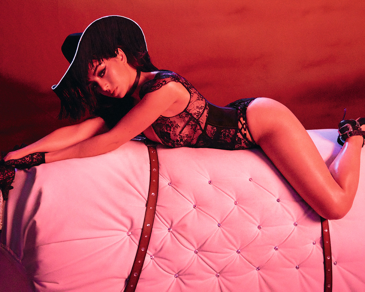 Charli XCX for Agent Provocateur. Photo: Courtesy of Agent Provocateur