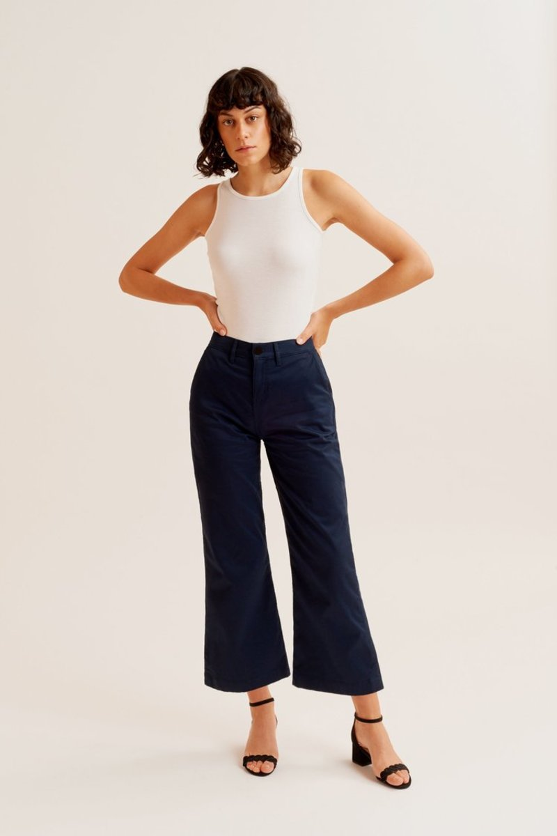 Kotn Culotte Trousers, $75, available here.