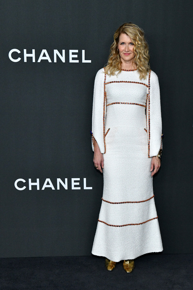 Laura Dern in Chanel at MoMA's Film Benefit. Photo: Courtesy of Chanel
