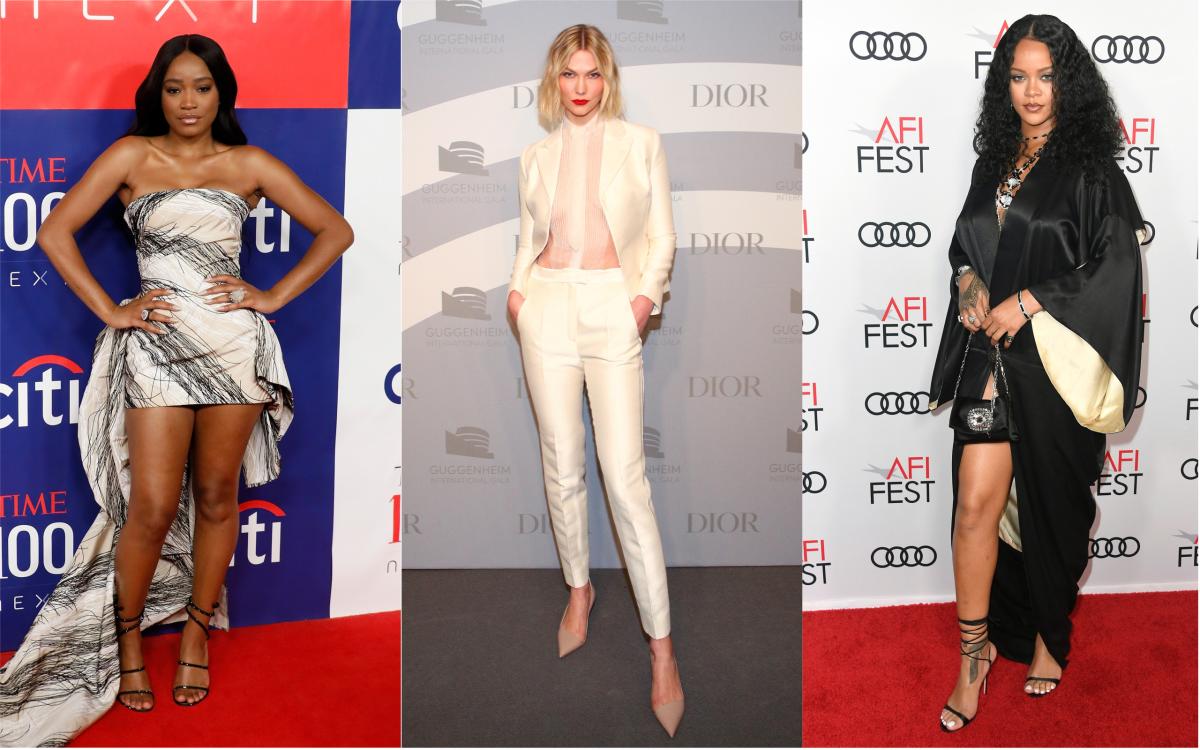 Keke Palmer, Karlie Kloss and Rihanna. Photos: Getty Images