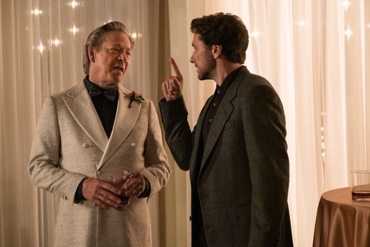 Jerry (Chris Cooper) and Lloyd (Matthew Rhys). Photo: Lacey Terrell/Courtesy of Sony Pictures Entertainment