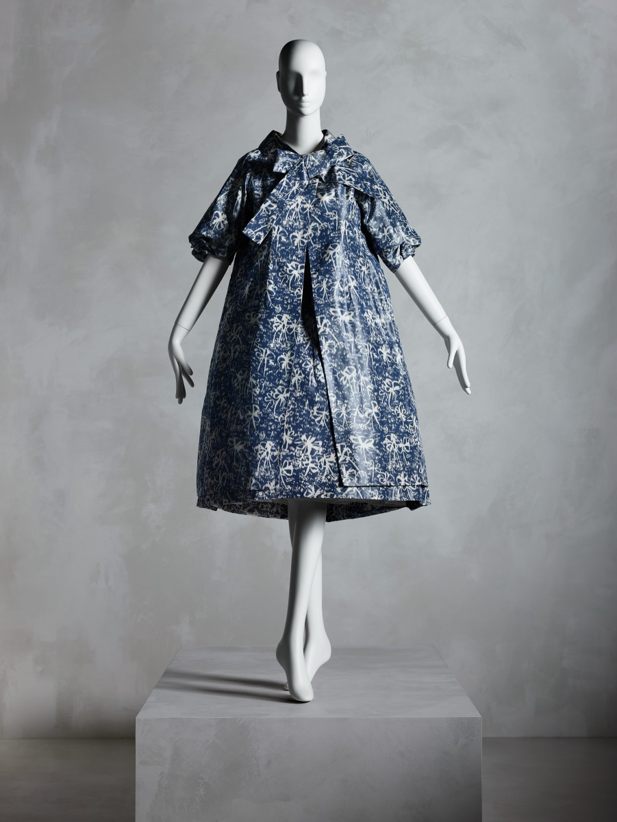 An Yves Saint Laurent for Christian Dior dress from the exhibition. Photo: Courtesy of the Costume Institute