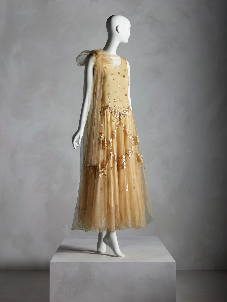 A Madeleine Vionnet dress from 1931. Photo: Courtesy of the Costume Institute