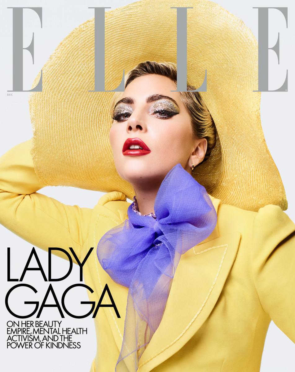 Lady Gaga covers the 'Elle' December 2019 issue. Photo:Sølve Sundsbø/Courtesy of Hearst