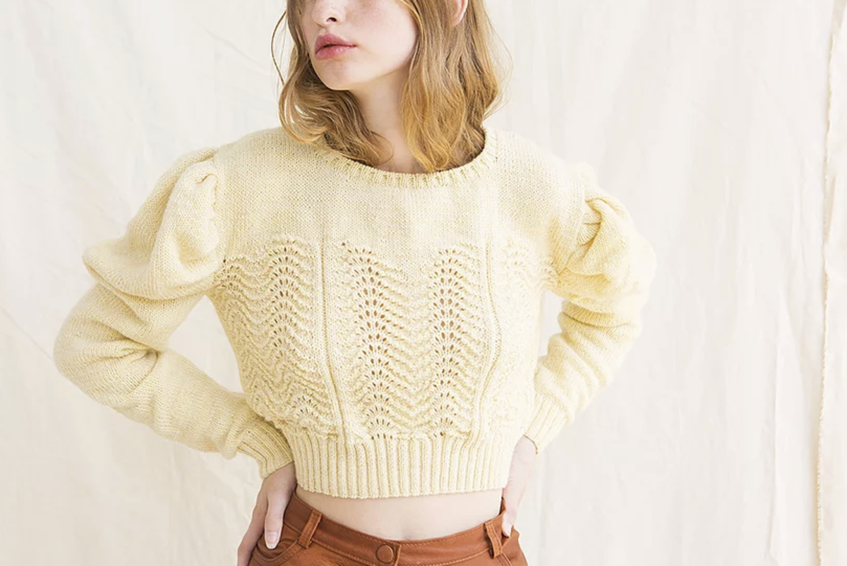 Tach Clothing Begonia Sweater, $196, available here.