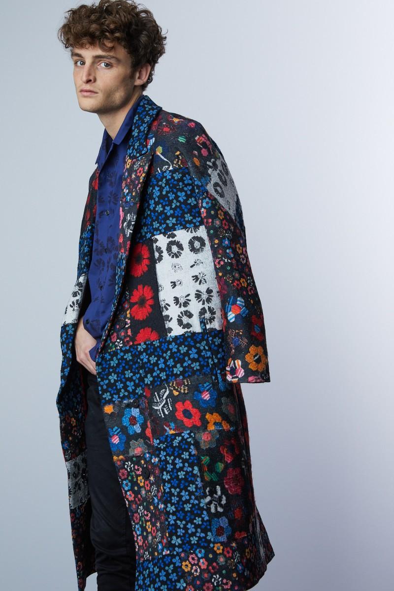 The Studio'sJonathan Cohen x Carolina Bedoya wrap coat.