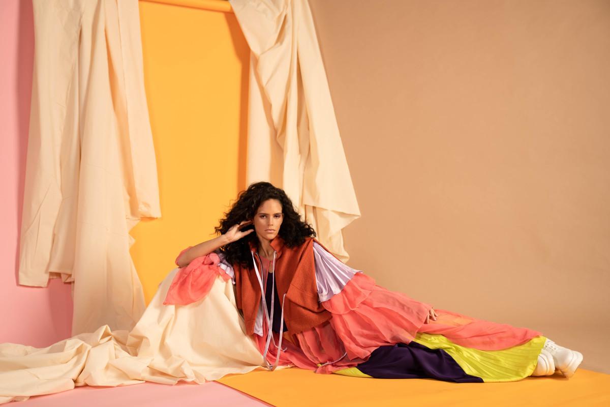 Design, Ashleigh Cain-O'More Alumna | Model, Tatiana Walton | HMUA, Isabella Rosalen