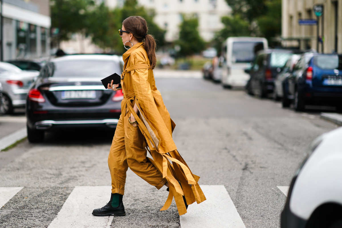 Street style from Paris Fashion Week Spring 2020.
